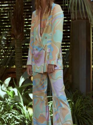 Adriana Iglesias Kira Trippy Jacket