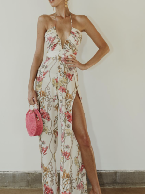 Katie May Ivory Lily Jumpsuit